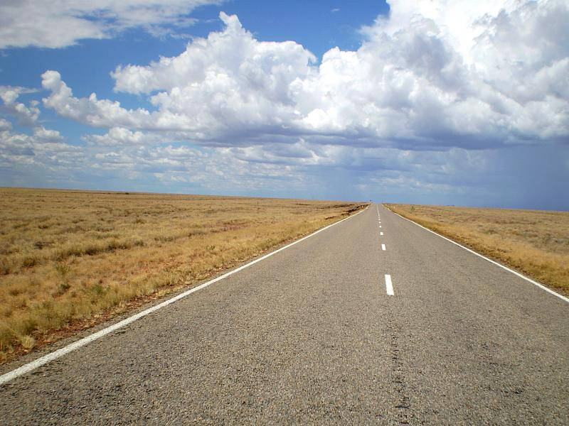 Photo of Highway 1, Australia stretching into the distance